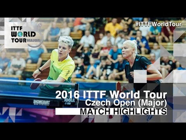 2016 Czech Open Highlights: Matilda Ekholm/Georgina Pota vs Maria Dolgikh/Polina Mikhailova (Final)