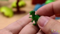 TYRANNOSAURUS REX from Small to Big - Dinosaurs Toys Collection for Kids-yet82C5w
