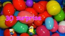 30 Surprise Eggs!!! Disney CARS MARVEL Spider Man SpongeBob HELLO KITTY PARTY ANIMALS LPS Animation-R3h7E03j