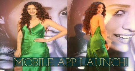 HOT Disha Patani Launch Her Official Mobile App