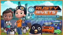 Nick Jr | Rusty Rivets Penguin Problem | Rusty Rivets Penguin Runner Rescue | Dip Games for Kids