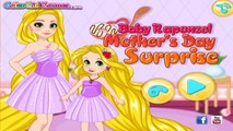 Disney Rapunzel Games - Baby Rapunzel Mothers Surprise - Best Mother Day Games for Girls