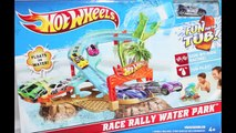 Cars Color Changers Play Set Hot Wheels Fun For The Tub Race Rally Water Park Toy *| , KID