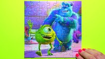 Kids Toys BeeTube - MONSTERS UNIVERSITY Disney Puzzle Games Rompecabezas Sullivan, Mike, B