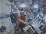 Space 360: Fitness in zero gravity at Intl Space Station