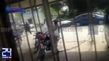 Mobile Footage of deadly clash between Islami Jamiat-e-Talaba & ANP Students at Punjab University