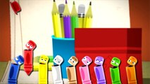 Coloring bears, Polar Bears, Snow and Clouds | White | Learn the Colors |Color Crew | Baby