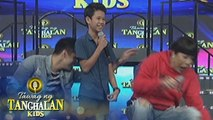 Tawag ng Tanghalan Kids: Robi pushes Vice Ganda off the stage