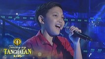 Tawag ng Tanghalan Kids: Joseph Harry Lapaz | Don't Cry Out Loud