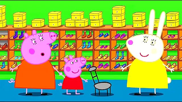 Peppa Pig Peppa Shopping New Shoes Coloring Pages Peppa Pig Coloring Book Songs for Chil