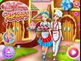 Disney Princess CUPCAKE CANDY GAME with Surprise Toys Blind Bags Candy Kids Games
