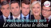 Présidentielles 2017 : le débat sans le débat (Clic Clac)