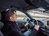 Franck Lagorce au volant de l'Audi Q2 (diaporama vidéo)