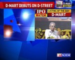 D-Mart Shares Debut at Rs 616