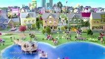 И строить друзья Дети Лего торговый центр часть играть Обзор поход по магазинам Игрушки Heartlake 1