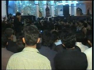 Syed Raza Abbas Zaidi Live Noha Khowani 28 safer Anjuman-e-Ghulaman-e-Hur 2009