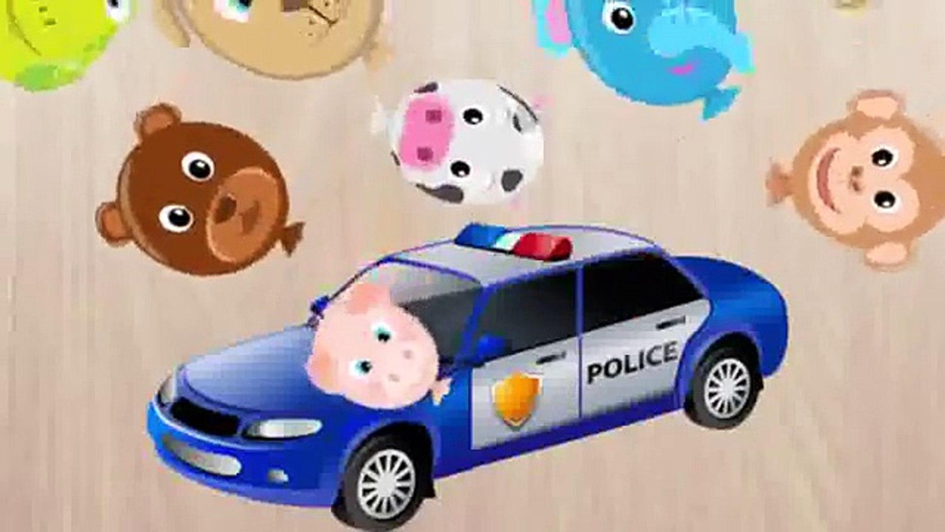 Скорая помощь автобус автомобиль сборник для Игры Дети Полиция головоломка Школа |