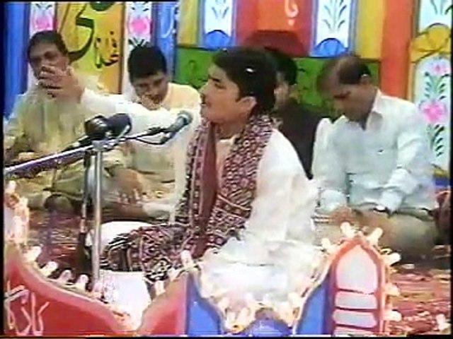 Syed Raza Abbas Zaidi Reciting Manqabat at Khair Pur (Sindh)