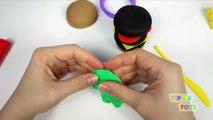 Play Doh Burger Hamburger Hot Dog Bun Sausage Fun How to Make Food Cooking Kitchen PlayDou
