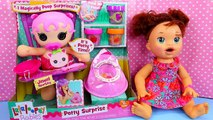 Lalaloopsy SURPRISE POTTY Training Magically POOPS CHARMS Diaper Surprise Toy EATS & POOPS
