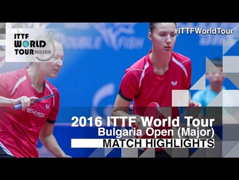 2016 Bulgaria Open Highlights: Kato Miyu/Misaki Morizono vs Maria Dolgikh/Polina Mikhailova (Final)