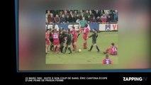 """Eric Cantona : condamné à de la prison ferme pour son """"coup du kung-fu"""" il y a 22 ans (vidéo)"""