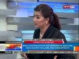 NTG: Mga contraceptive na ibinebenta ngayon, mas kaunti na lang ang side effects
