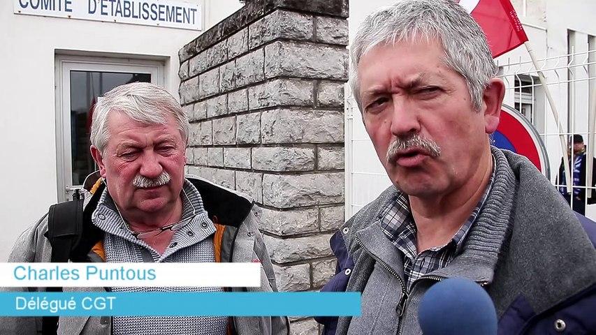 Yara : les délégués syndicaux Jean-François Derolez et Charles Puntous (CGT) reçus par la direction