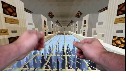 Realistic Minecraft -THE DROPPER 2 IN REAL LIFE!
