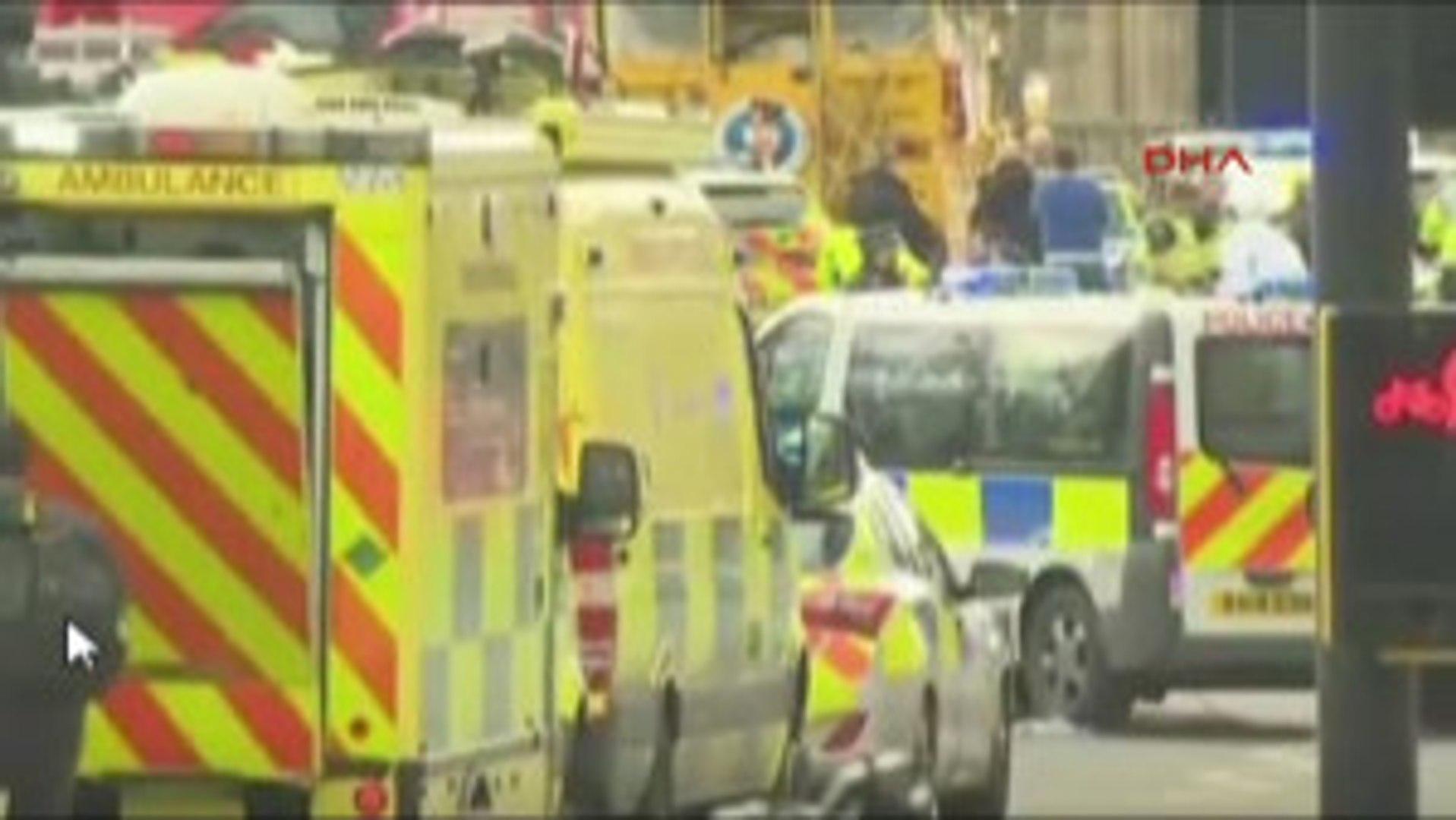Londra Parlamentosunda Silah Sesleri