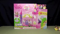 DISNEY PRINCESS MUSICAL DANCING PALACE! _ Belle & Cinderella Little People _ Bin's Toy Bin-cHXk