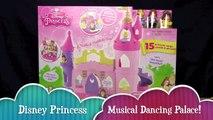 DISNEY PRINCESS MUSICAL DANCING PALACE! _ Belle & Cinderella Little People _ Bin's Toy Bin-cH