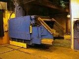 Fonderie de fonte, fours à induction Junker 6T 5000 kW 250 Hz