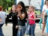 Danse avec les enfants du Village SOS