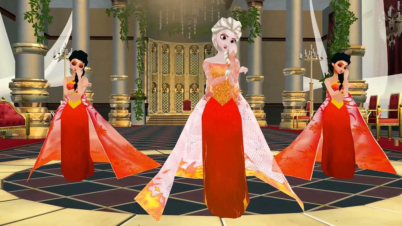 Frozen Elsa Anna Jingle Bells Jingle Bells Rhymes Frozen Cartoon Jingle Bells Children Rhy