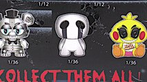 Five Nights at Freddys FNAF FUNKO Articulated 5inch Action Figures Set Animated Unboxing