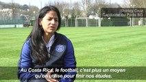 PSG-Dames: Shirley Cruz, le coeur au Costa Rica, la tête à Paris