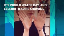 Here's why your favorite celebrities are all making the 'W' sign today