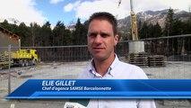 Alpes-de-Haute-Provence : les travaux ont commencé SAMSE Barcelonnette après l'incendie de septembre