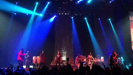 """Redman performs """"Tonight's Da Nite"""" with the Wu-Tang Clan LIVE"""