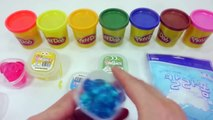 How To Make Clay Slime Stick Ice Cream Learn Colors Water Jelly Ball Toys ABC Phonics Croc