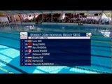 Swimming - women's 200m individual medley SM10 - 2013 IPC Swimming World Championships Montreal