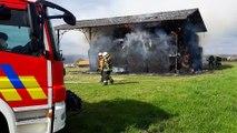 Florennes : incendie à Chaumont