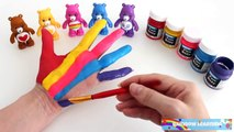 Face Painting Learn Colors for Children Body Painting Finger Family Nursery Rhymes Learnin