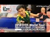 2016 Australian Open Highlights: Masaki Takami vs Zhao Anthony (U21-Qual)