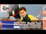 2016 Australian Open Highlights: Yuki Morita vs Finn Luu (Qual)