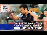 2016 Australian Open Highlights: Lim Hyunjo vs Zhao Anthony (Qual)