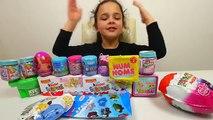 Surprise Eggs, Maxi Kinder Surprise, Peppa Pig, My Little Pony, Dory, Barbie, Shopkins, Trolls