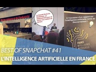 Best-of Snapchat #41 : La France et l'intelligence artificielle