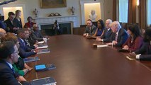 Congressional Black Caucus sits down with President Trump